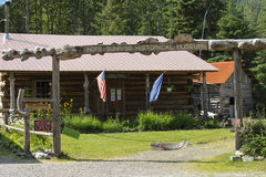 Музей в уповании Аляске Стоковая Фотография