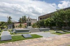 Музей геноцида Tuol Sleng на Пномпень, Камбодже Стоковые Фото