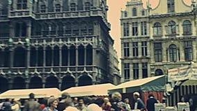 Музей города Брюсселя сток-видео