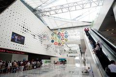 Музей 2010 города Шанхая экспо Китая земли Стоковые Изображения RF