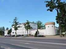Музей городка Taurage, Литва Стоковое фото RF