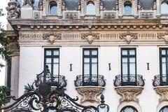 Музей Джордж Enescu в Бухарест, Румынии стоковые фото