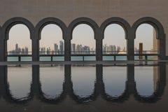 Музей Дохи исламского искусства Стоковые Изображения RF