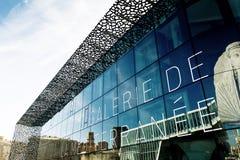 Музей европейских и среднеземноморских цивилизаций Стоковая Фотография