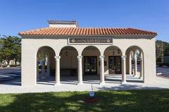 Музей депо Неаполь, Флорида Стоковое фото RF