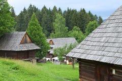 Музей деревни Мартина словака стоковая фотография rf