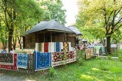 Музей деревни Dimitrie Gusti национальный (Muzeul Satului) стоковые изображения