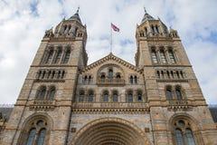 Музей естественной истории в Лондон стоковое изображение