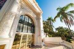 Музей естественной истории в парке бальбоа стоковое изображение rf