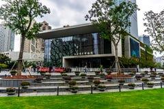 Музей естественной истории Шанхая стоковые изображения