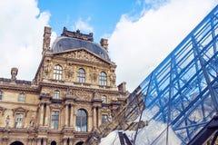 Музей жалюзи во время пасмурного дня стоковая фотография