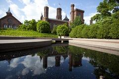 Музей замка смитсоновск стоковая фотография rf