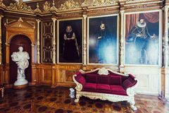Музей замка Шверина стоковые изображения
