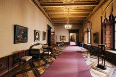 Музей замка Шверина стоковая фотография rf