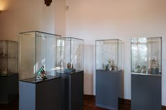 Музей замка Шверина стоковая фотография