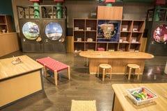 Музей игрушки Warabekan в Tottori Японии 1 Стоковое Изображение