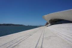 Музей изобразительных искусств, архитектура и технология в Лиссабоне Стоковая Фотография