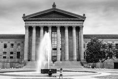 Музей изобразительных искусств Филадельфии стоковые фото