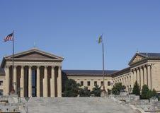 музей изобразительных искусств philadelphia стоковые фото