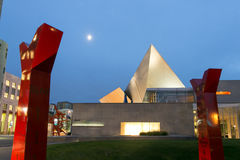 Музей изобразительных искусств Денвера Стоковое фото RF