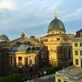 Музей изобразительных искусств Дрездена Стоковая Фотография RF