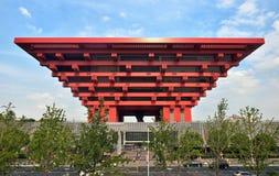 Музей изобразительных искусств Китая, Шанхай стоковое фото