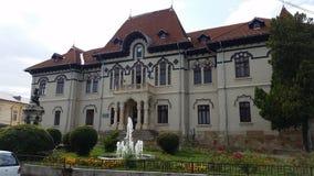 Музей изобразительных искусств от Campulung, Румынии стоковые фотографии rf