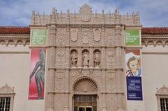 Музей изобразительных искусств Сан-Диего в парке бальбоа в Сан-Диего, Калифорнии Стоковые Изображения