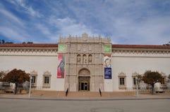 Музей изобразительных искусств Сан-Диего в парке бальбоа в Сан-Диего, Калифорнии Стоковые Фотографии RF