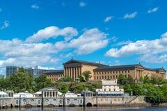 Музей изобразительных искусств Филадельфии Стоковая Фотография