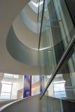Музей изобразительных искусств ARoS, Орхус, Дания - абстрактные отражения Стоковое Фото