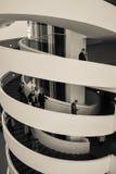 Музей изобразительных искусств ARoS, Орхус, Дания - спираль лестницы (2) Стоковая Фотография RF