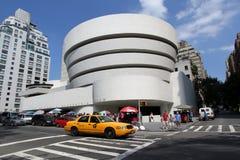 Музей изобразительных искусств NYC Guggenheim Стоковое Изображение