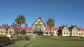 Музей изобразительных искусств Rotorua и история - Новая Зеландия видеоматериал