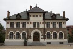 Музей изобразительных искусств - Targ Neamt - Румыния Стоковое фото RF