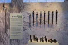 Музей Израиля в Иерусалиме Стоковые Изображения