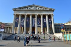 Музей изящных искусств, Будапешт Стоковая Фотография RF