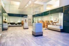 Музей ираклиона археологический на Крите стоковая фотография rf