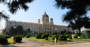 Музей искусства и истории в Вене сток-видео