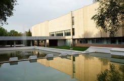 Музей искусств, Алма-Ата положения Abilkhan Kasteyev, Казахстан стоковые фото