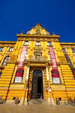 Музей искусств и ремесел, Загреба, Хорватии Стоковые Изображения