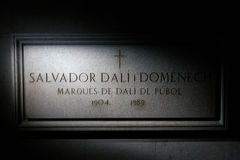 музей Испания figueres dali Стоковое Изображение