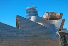 музей Испания guggenheim bilbao Стоковое Изображение