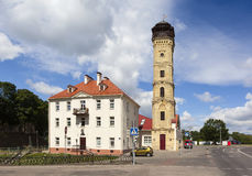 Музей истории пожарной службы и огн-башни Grodno Беларусь Стоковое Фото