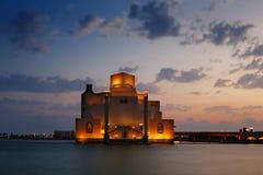 Музей исламского искусства в Дохе, Катаре стоковые изображения rf