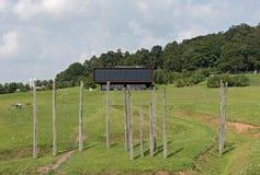 Музей и археологический парк Glauberg, Hesse, Германия Стоковое Фото