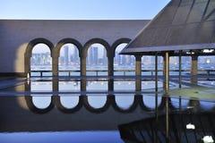 музей Катар doha искусства исламский Стоковое Фото