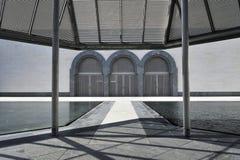 музей Катар doha искусства исламский стоковая фотография
