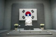 Музей Ким Koo, Paikbum Kim Gu стоковое изображение