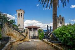 Музей конематки форта в Herceg Novi стоковые фото